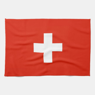 switzerland swiss country flag towel