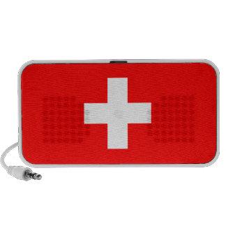 Switzerland - Swiss Flag Notebook Speakers