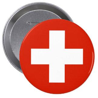 Switzerland , Switzerland 10 Cm Round Badge