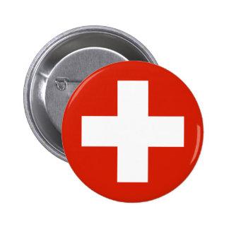 Switzerland , Switzerland 6 Cm Round Badge