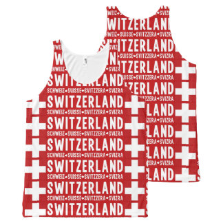 SWITZERLAND tanktop All-Over Print Tank Top
