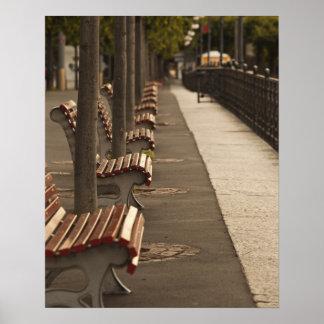 Switzerland, Ticino Canton, Lugano. Lakefront Poster