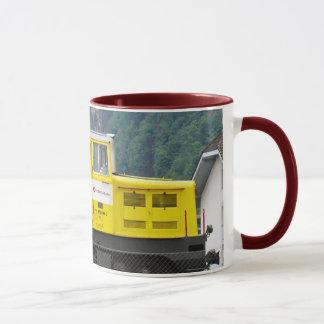 Switzerland,train engine mug