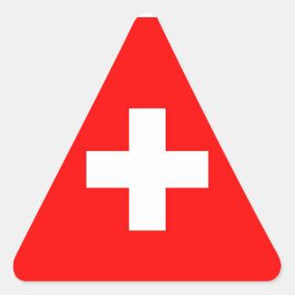 SWITZERLAND TRIANGLE STICKER
