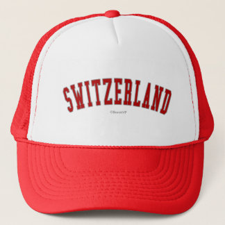 Switzerland Trucker Hat