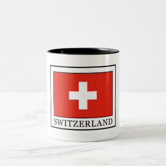 Switzerland Two-Tone Coffee Mug