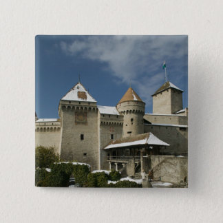 SWITZERLAND, Vaud), Swiss Riviera, MONTREUX: 15 Cm Square Badge