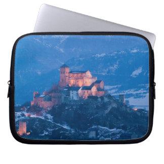 SWITZERLAND, Wallis/Valais, SION: Basilique de Laptop Sleeve