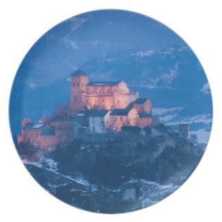 SWITZERLAND, Wallis/Valais, SION: Basilique de Plate