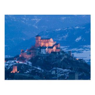 SWITZERLAND, Wallis/Valais, SION: Basilique de Postcard