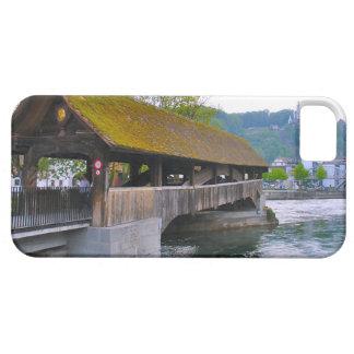 Switzerland,Wooden bridge, Lucerne iPhone 5 Case