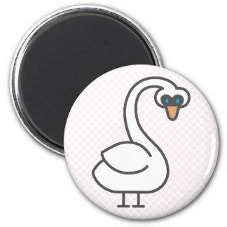 Swivvel Swan Magnet