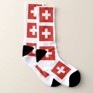 Swizerland Colouful Flah Socks 1