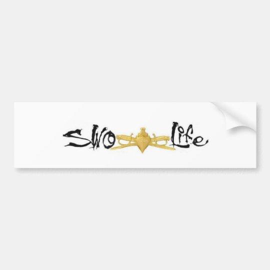 SWO Life Bumper Sticker