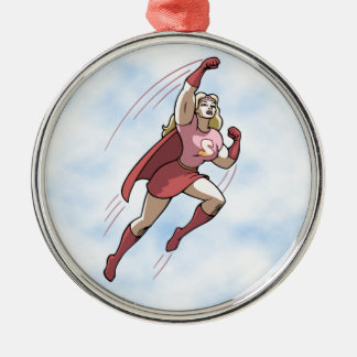 Swole Woman Christmas Ornament