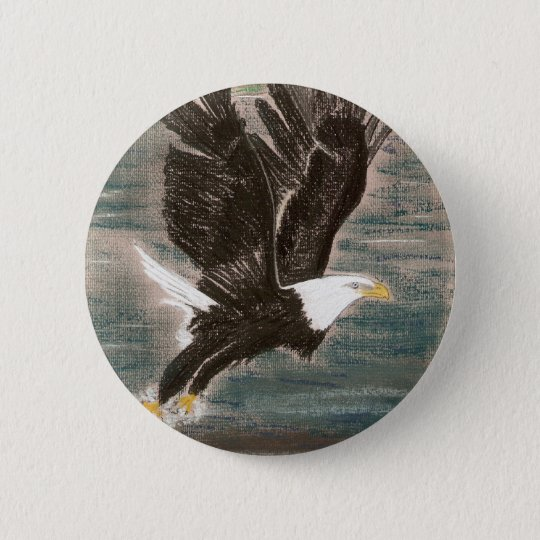 SWOOP FOR FUN 6 CM ROUND BADGE