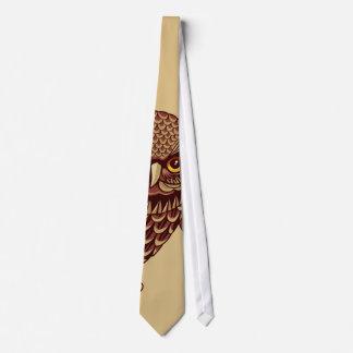 Swooping Owl Tie