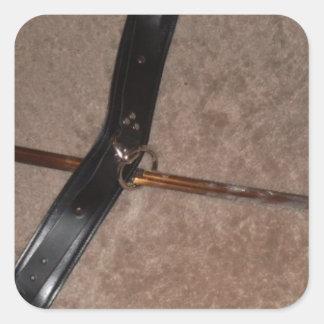 SWORD AND COLLAR 3 STICKER