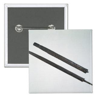 Sword and sheath, from La Tene, Switzerland 15 Cm Square Badge