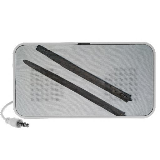 Sword and sheath, from La Tene, Switzerland iPhone Speaker