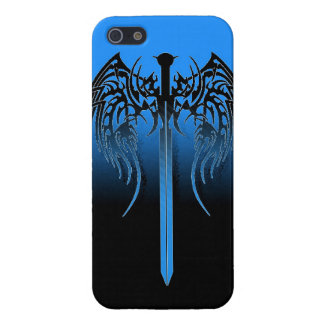 Sword and wings tribal cool awesome tattoo art fan iPhone 5 covers