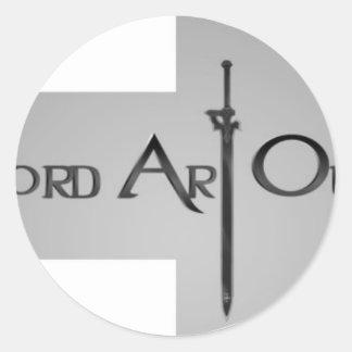 Sword Art Online Round Stickers