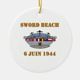 Sword Beach 1944 Christmas Tree Ornaments
