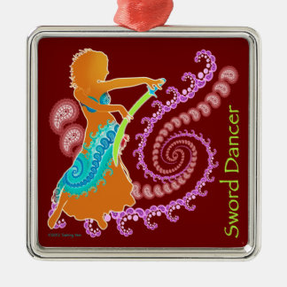 Sword Belly Dance Christmas Ornament
