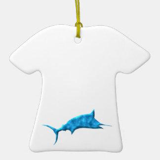 Sword fish swordfish christmas ornaments