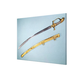 Sword given to Napoleon I  by the Directoire Canvas Print