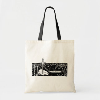 Sword In The Stone Budget Tote Bag