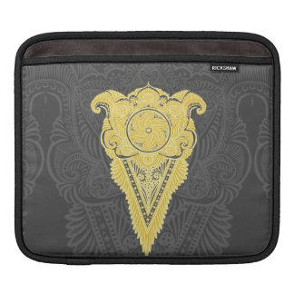 Sword of flowers,Tarot, spirituality,newage iPad Sleeve