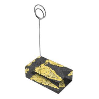 Sword of flowers,Tarot, spirituality,newage Table Card Holder