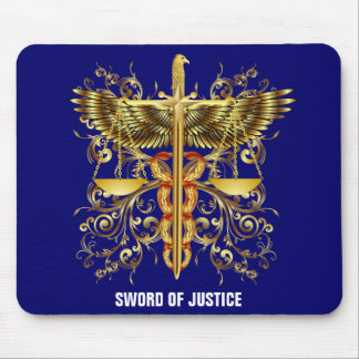 Sword of Justice Mouse Mat