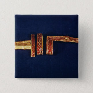 Sword ornaments from the Treasure of Childeric I ( 15 Cm Square Badge