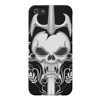 Sword Skull - BLK Cover For iPhone 5