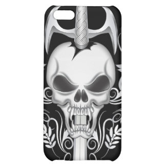 Sword Skull - BLK iPhone 5C Case