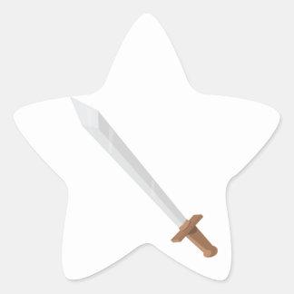 Sword Star Sticker