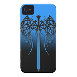 Sword with wings cool tribal art design awesome ta Case-Mate iPhone 4 case