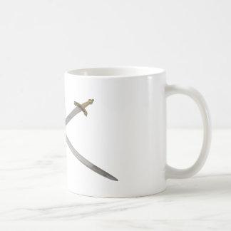 SwordCrossedSkull061209 Mugs