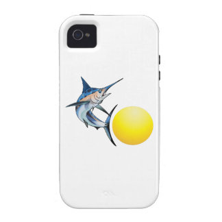 SWORDFISH AND SUN iPhone 4 COVER