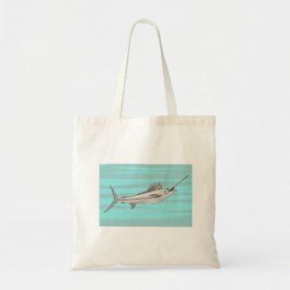 Swordfish Tote Bags