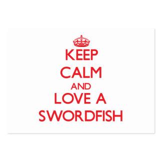Swordfish Business Card