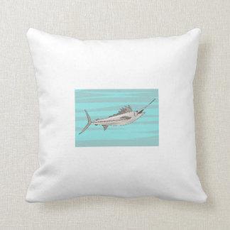 Swordfish Throw Pillows