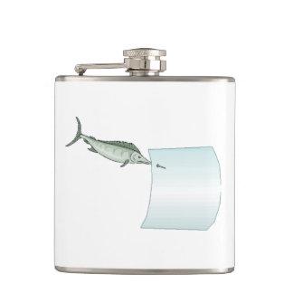 Swordfish Hip Flasks