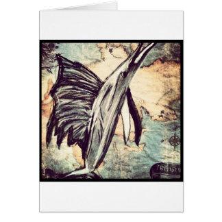 Swordfish Greeting Card