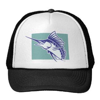 SWORDFISH TRUCKER HATS