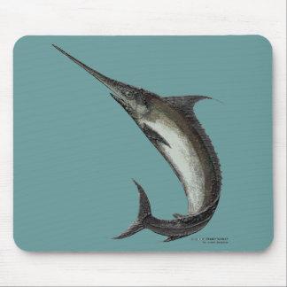 Swordfish Mouse Pad