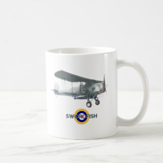 Swordfish mug, also available as frosted glass coffee mug