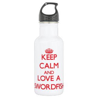 Swordfish 18oz Water Bottle